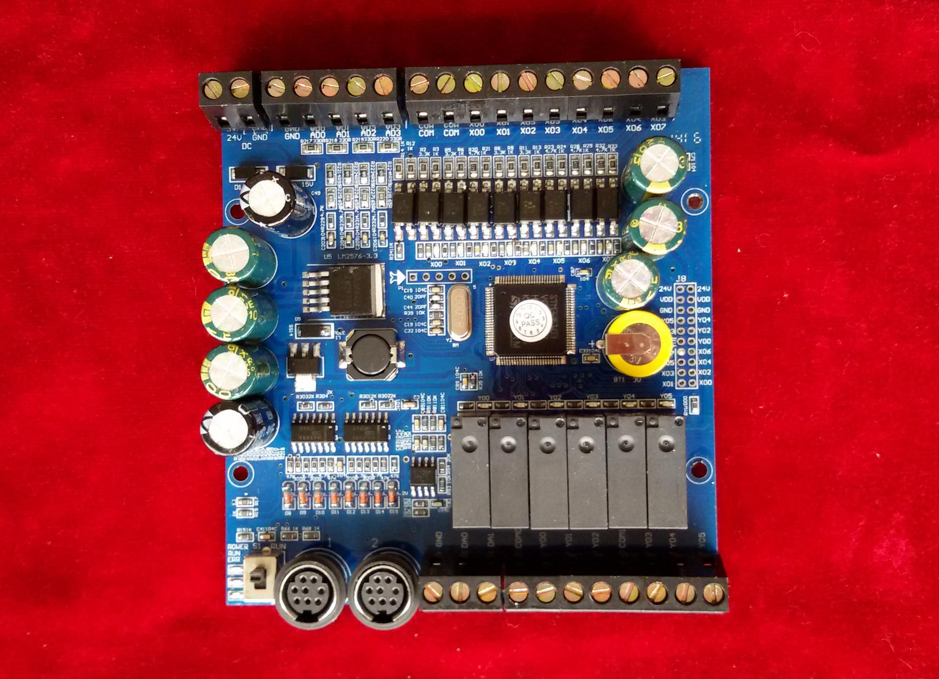 Bảng điều khiển điện công nghiệp FX1N-14MR-4AD2DA-GC