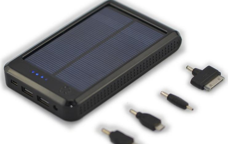 Sạc điện thoại di động năng lượng mặt trời 10.000mAh