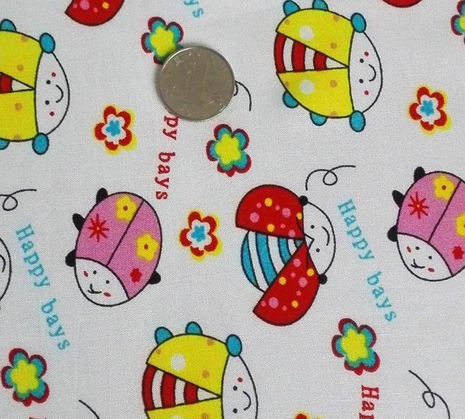 Vải cotton in bông chuyên dùng thời trang trẻ em