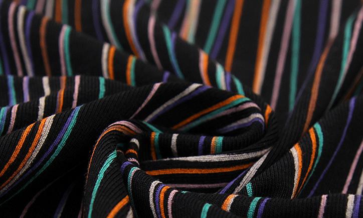 Vải thun sọc thời trang may mặc mùa hè