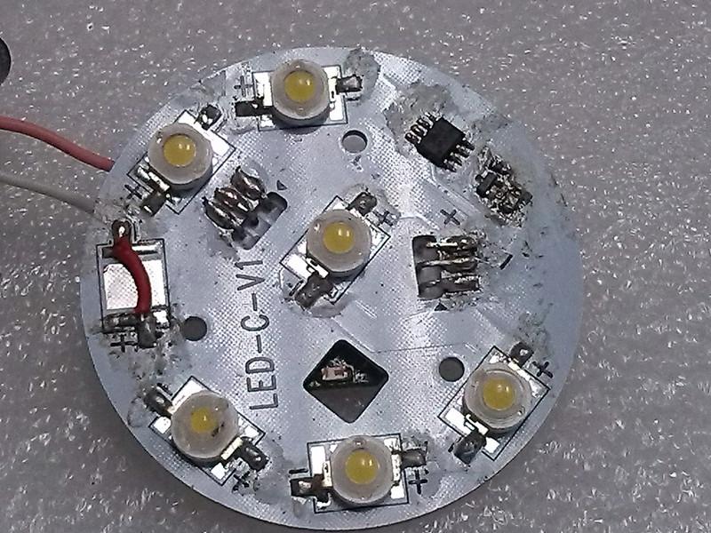 Hệ thống đèn không dây led ,ic  Moodun đèn led