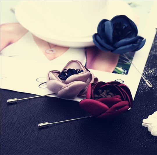 Trâm hoa hồng cài áo/váy