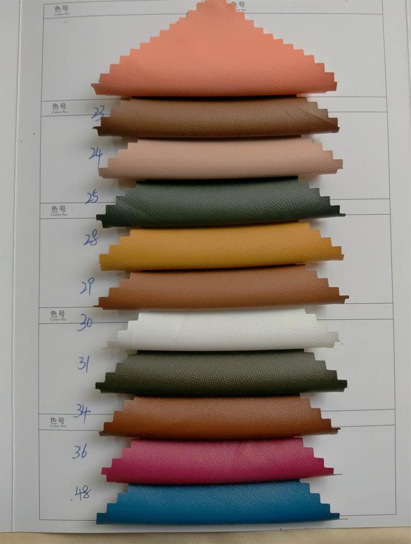 Suede [PVC artificial leather] pu soft clothing b Textile City 50 shelf color