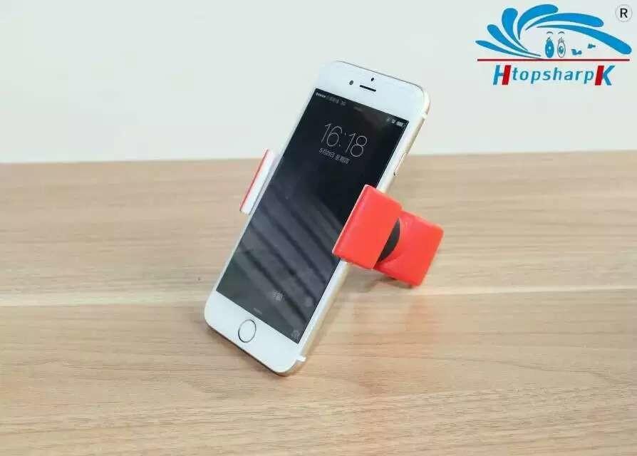 phụ kiện chống lưng điện thoại  The new double C cycling universal phone holder bracket car bracket