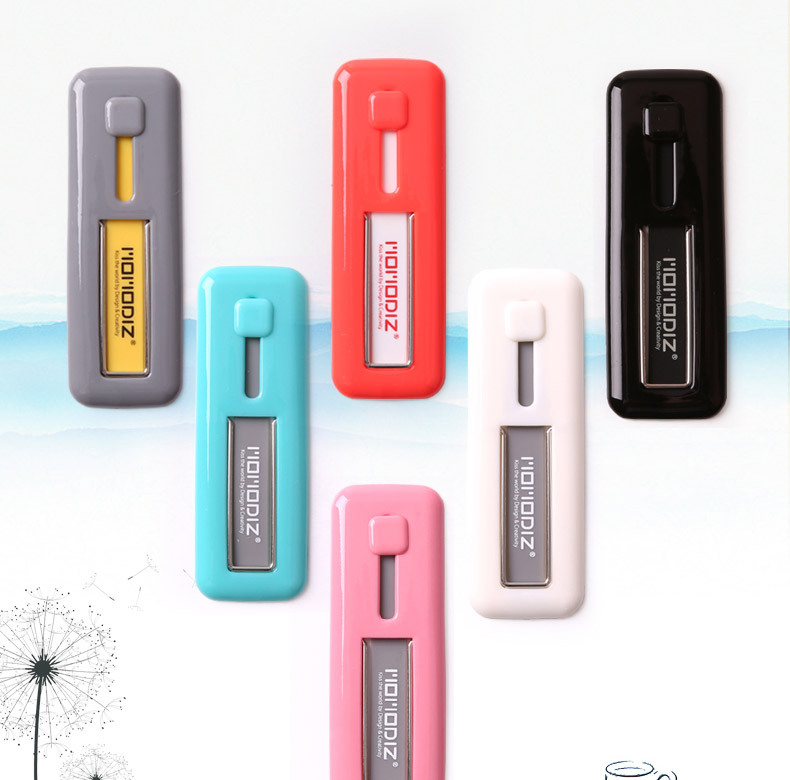 phụ kiện chống lưng điện thoại  The new car phone holder lazy creative iPhone6 cartoon silicone rin