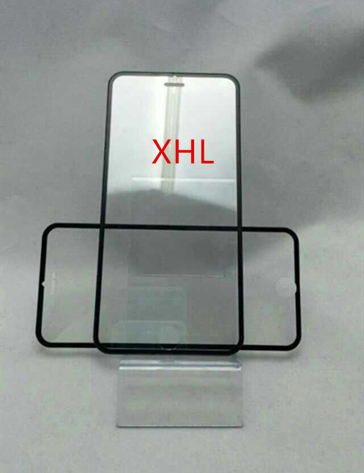 Manufacturers supply Apple iphone6 4.7 5.5 full-screen size black and white edges laminated tempered