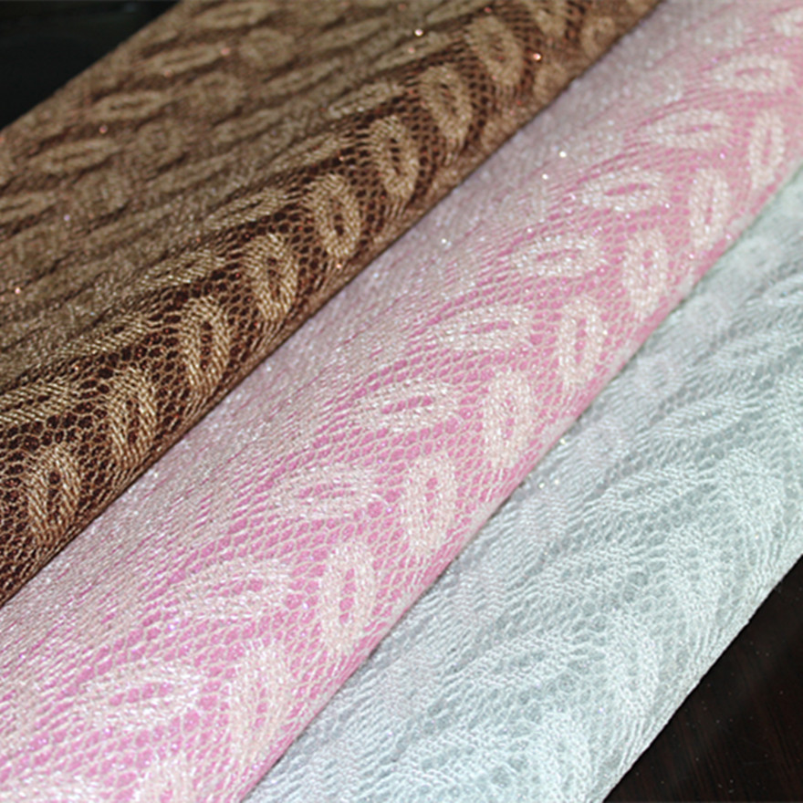 Factory direct special Glitter Glitter hands grain leather pvc leather