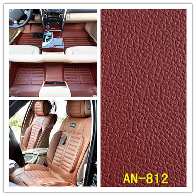 Set Thai leather PVC artificial leather embossed BMW car interiors furniture fabric sofa Universal