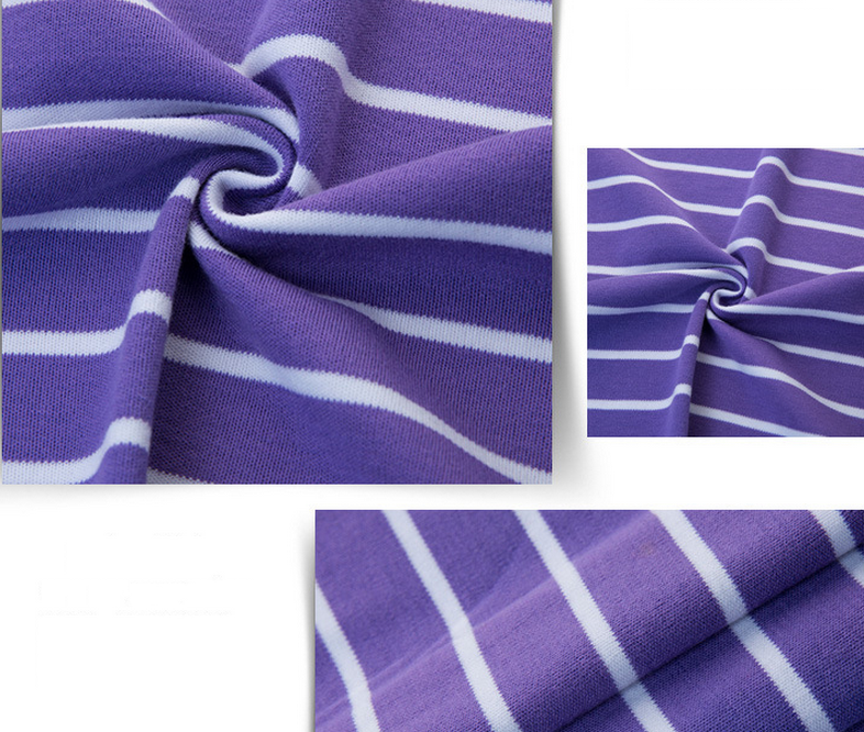 Cung cấp sỉ vải thun cotton sọc chuyên dùng may áo thun nam