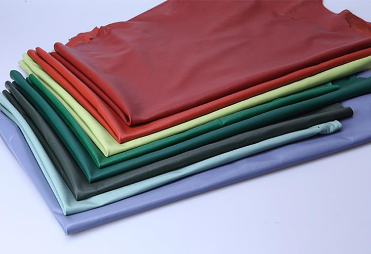 Da dê    Factory direct dermal sheep leather materials of various high-cost series CX color fabric