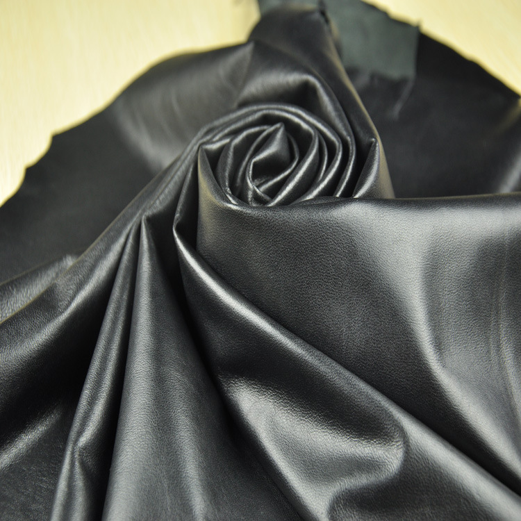 Manufacturer of new high quality black sheep leather leather leather leather clothing wholesale shee