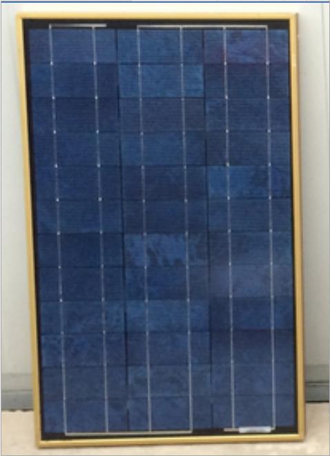 tấm pin mặt trời lên đến 60 w linh kiện quang điện - silicon đa tinh thể