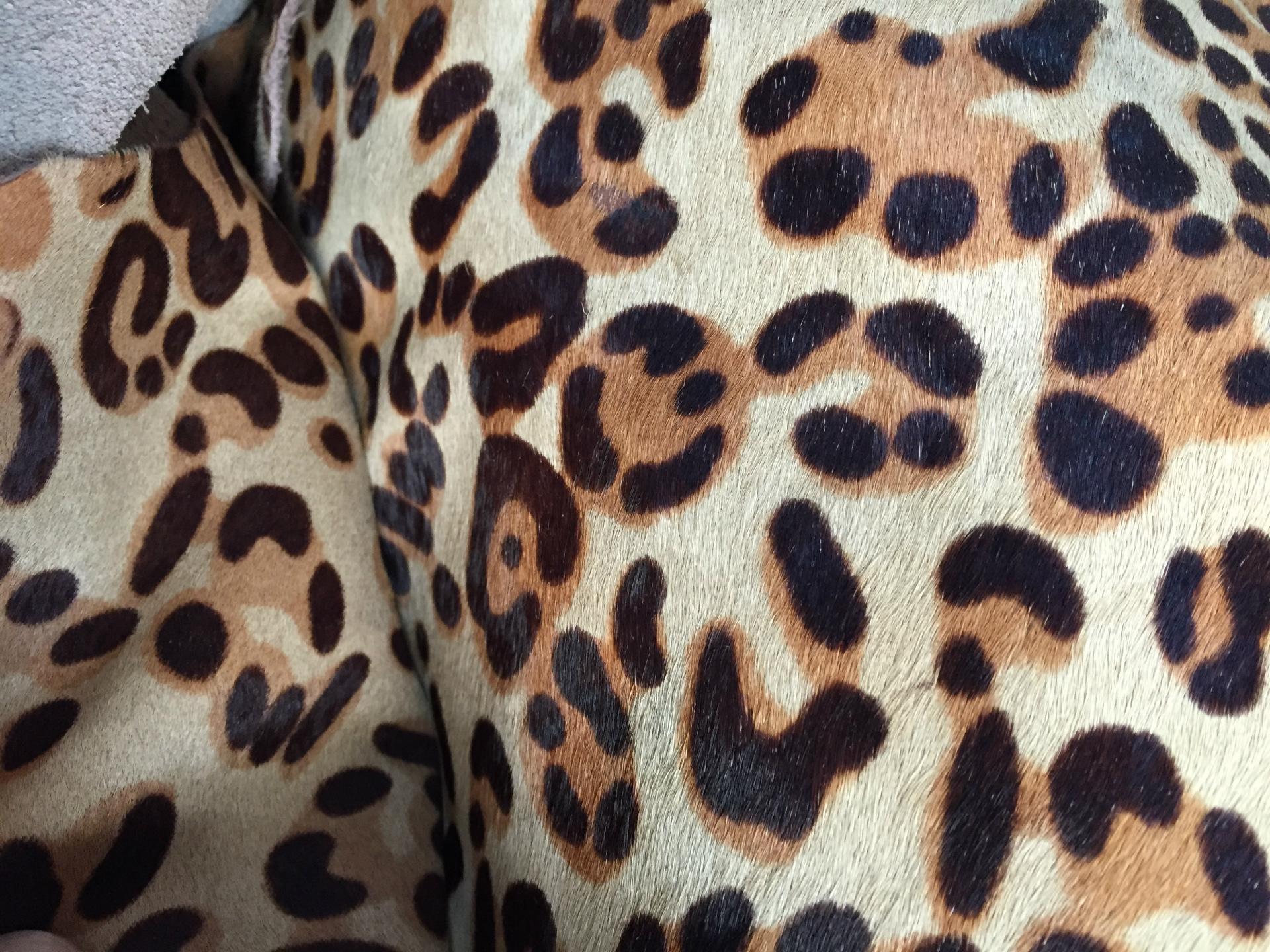 Da ngựa   Yiwu really Pima hair leopard pony zebra cows one thousand Bird horsehair horsehide monoch