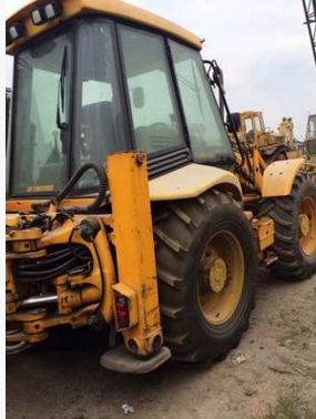 Máy đào đất  Sale of used all imports JCB (JCB) 4CX Backhoe two busy four-drive