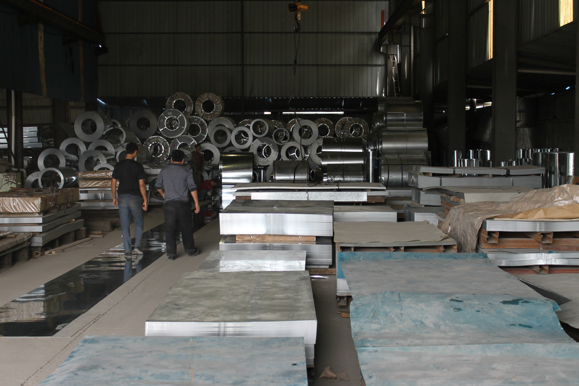 Supply of quality no flowers galvanized sheet hot-rolled galvanized coil galvanized steel size speci