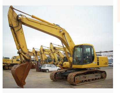 8-9 into a new Komatsu PC200-7, PC220-7 excavator transfer