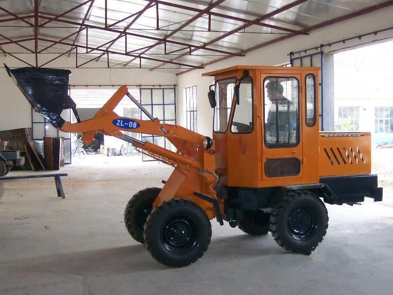 Máy đào đất  Supply ZL-12 Wheel Loaders Backhoe Loader wheeled loaders