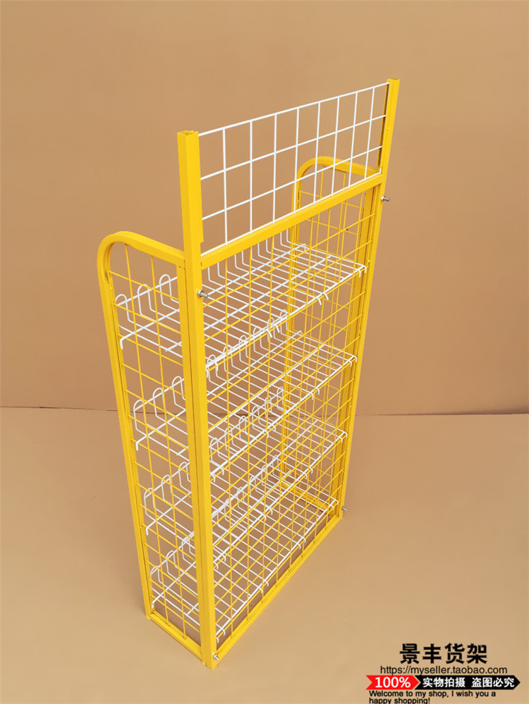 A small supermarket shelves of food and beverage sales shelf shelf bread snack shelf cosmetic shelf
