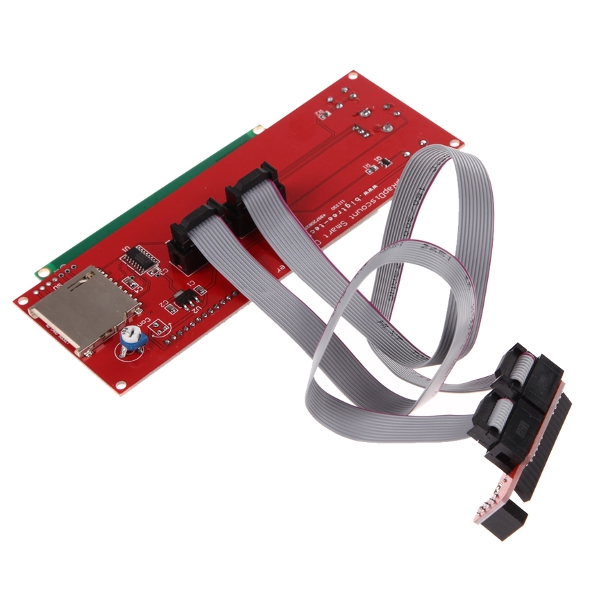 2004 LCD Smart Display Controller Module with Adapter for 3D Printer (Intl)