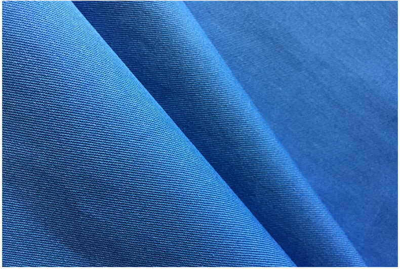 Vải cotton pha polyester Factory direct PVC TC fine twill blend twill woven cotton cloth casual pant