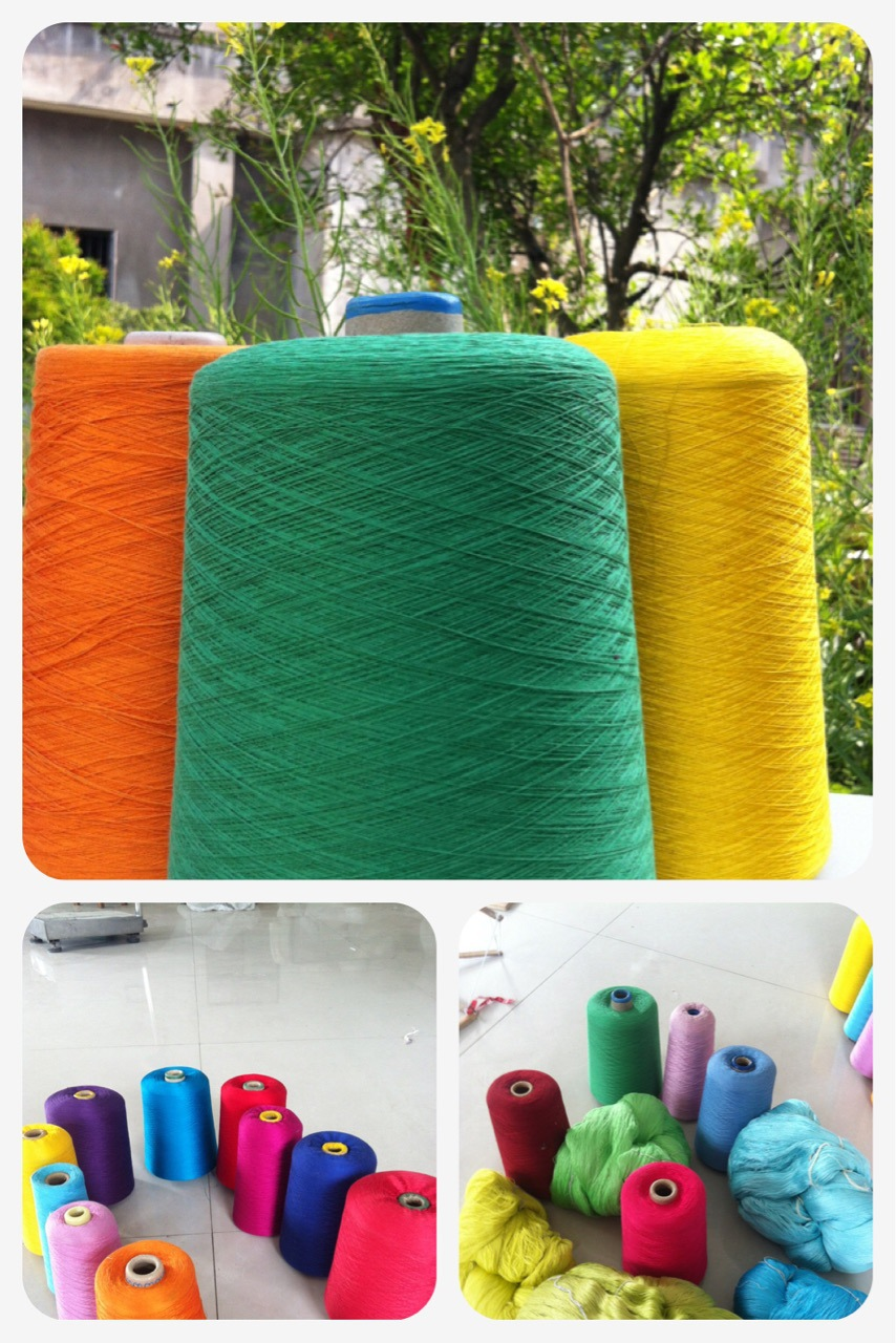 Sợi tơ lụa   Silk yarn