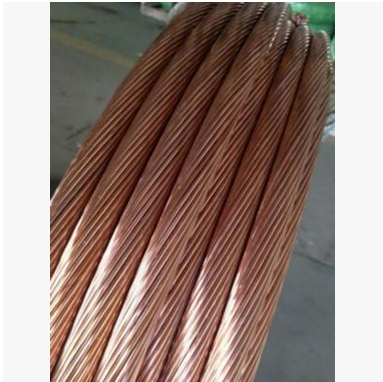 Dây cáp   Copper clad steel wire copper clad ground rod grounding factory sales