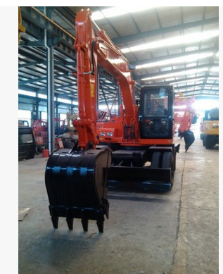 Hengte factory direct wholesale price supply 120 wheeled excavators
