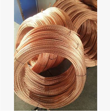 Dây cáp   Factory direct copper clad steel wire copper stranding high-quality high-power ground lea