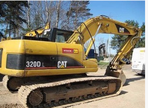 Máy đào đất Carter excavator, Caterpillar 320 excavators for sale