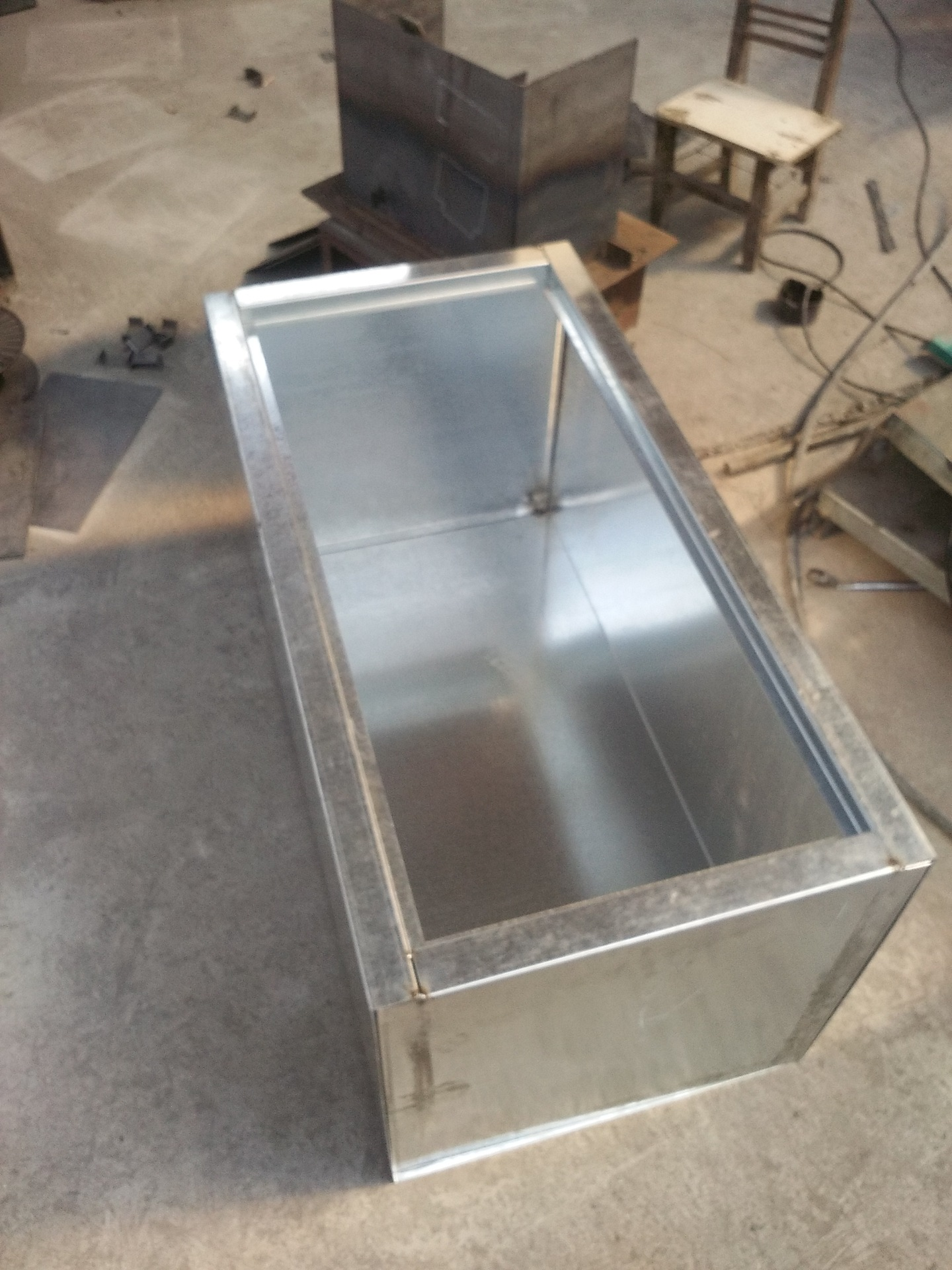 Tôn mạ kẽm  Spot galvanized iron sheet galvanized sheet galvanized environmental protection toolbo