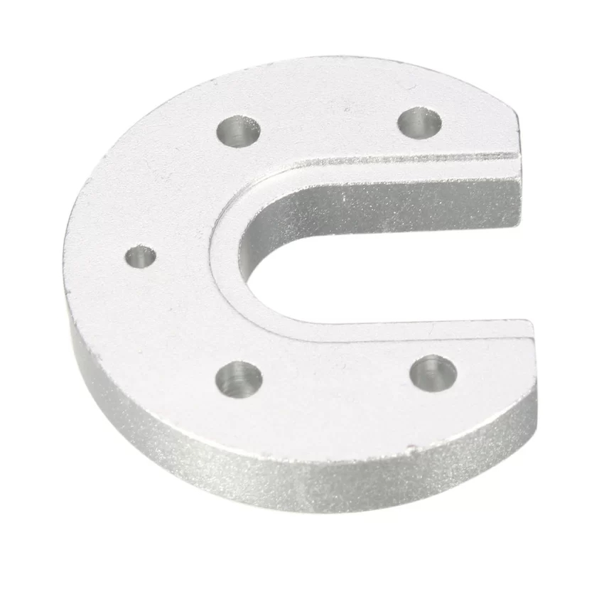 Hot V6 Hotend J-head Aluminum Mount Plate U-shaped for 3d Printer (Intl)