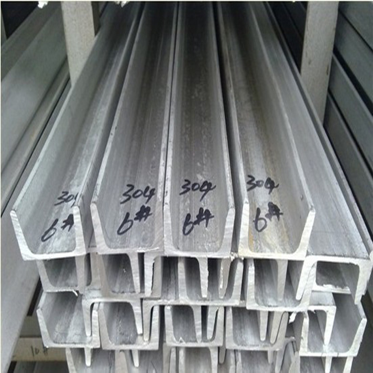 Thép chữ U  Professional wholesale supply manufacturers channel 201 stainless steel channel u-channe