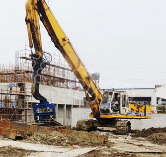Máy đào đất 20 tons 30 tons 40 tons of hydraulic excavators high frequency mechanical vibration pili