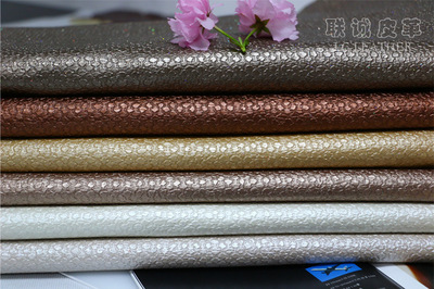 da Advanced decorative material leather color pink colorful background soft bag leather pu leather f