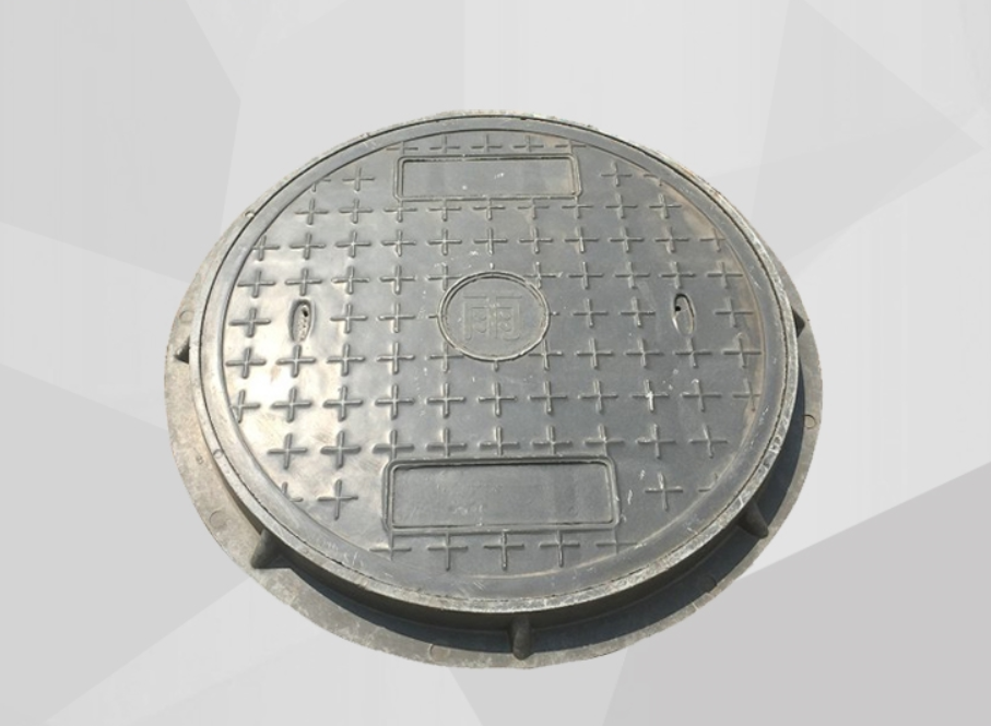 Epoxy resin composite covers covers covers plastic rain sewage manhole covers green belt round 800 *