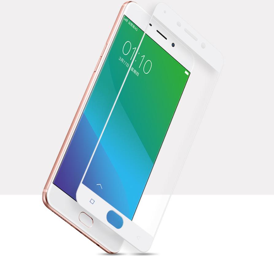 Miếng dán cường lực  oppo R9 soft edge carbon fiber full-frame steel membrane cell phone film full c