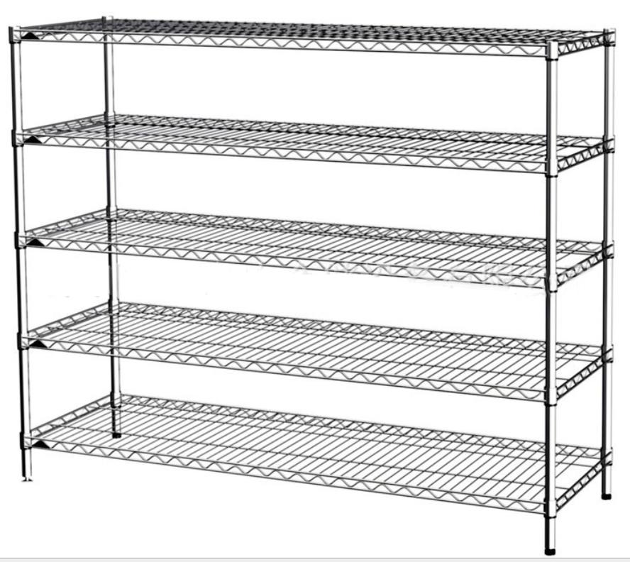 Shenzhen Shenzhen shipping line network shelf chrome shelves stainless steel shelves storage shelves
