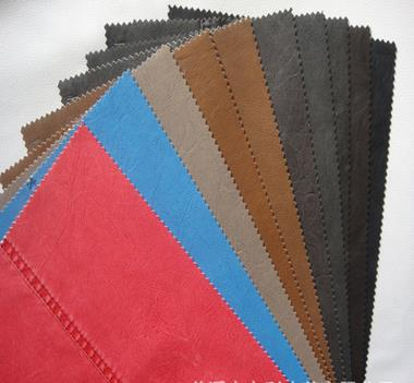da   Factory direct explosion models washed PU leather leather garments leather pvc decorative fabr
