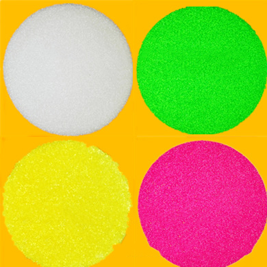 Abrasive material - high-quality white sand and transparent PA Nylon 0.6 * 0.6mm