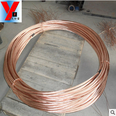 Dây cáp   Low-cost factory direct sales of copper clad steel grounding lightning protection and gro