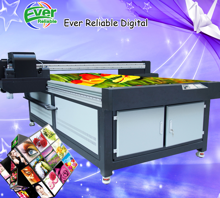 Máy in 3D  3D art glass tile backdrop UV digital printing machine wood printing machine UV flatbed