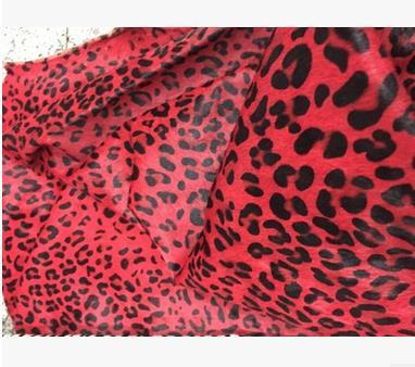 Da ngựa Dongguan horse hair fabric of high-grade fabrics head layer ox hair make flower-shaped spot