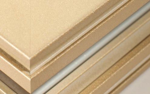 Vật liệu kim loại  Cung cấp nhôm cửa sổ cửa ra vào Fluorocarbon