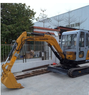 Crawler mini excavator YG30-9 upgraded version shock struck