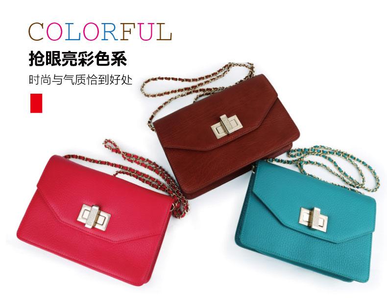 Túi xách da nhiều màu sắc, bền đẹp, thời trang