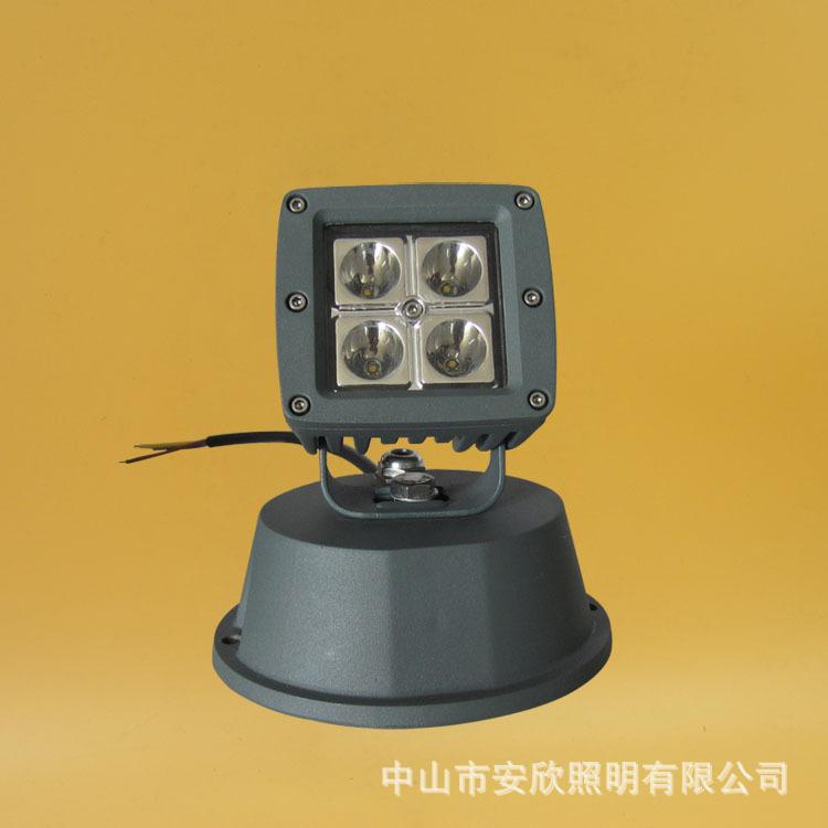 Vỏ chụp đèn chiếu điểm  The new 4 w Cree led project-light lamp CRRE cast light projection lamp out