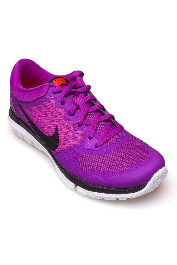 NIKE รองเท้าผ้าใบ รุ่น Flex 2015 RN MSL - 724987501 (Vvd Prpl/Blk-HT LV-Brght Crmsn)