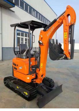 Small crawler excavator mini excavator mini hydraulic excavator price