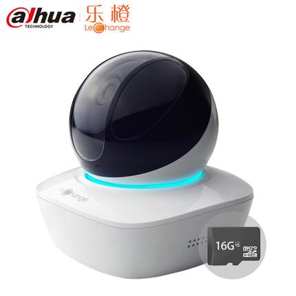 thị trường thiết bị giám sát    Dahua music orange TP1 + 16G card HD PTZ network card wifi wireless