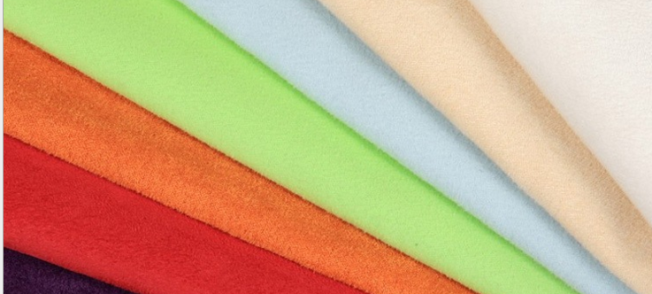Sợi Fancy   Suede fabric 150-280cm finished fabric Shengze factory outlets